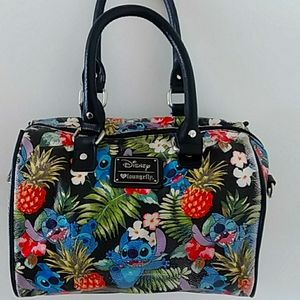Loungefly Stitch satchel AND wallet!!
